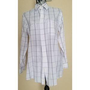 STAFFORD Long sleeve Dress shirt size 151/2 32-33